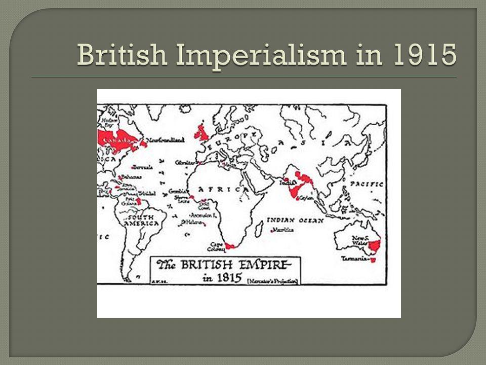 British Imperialism in 1915