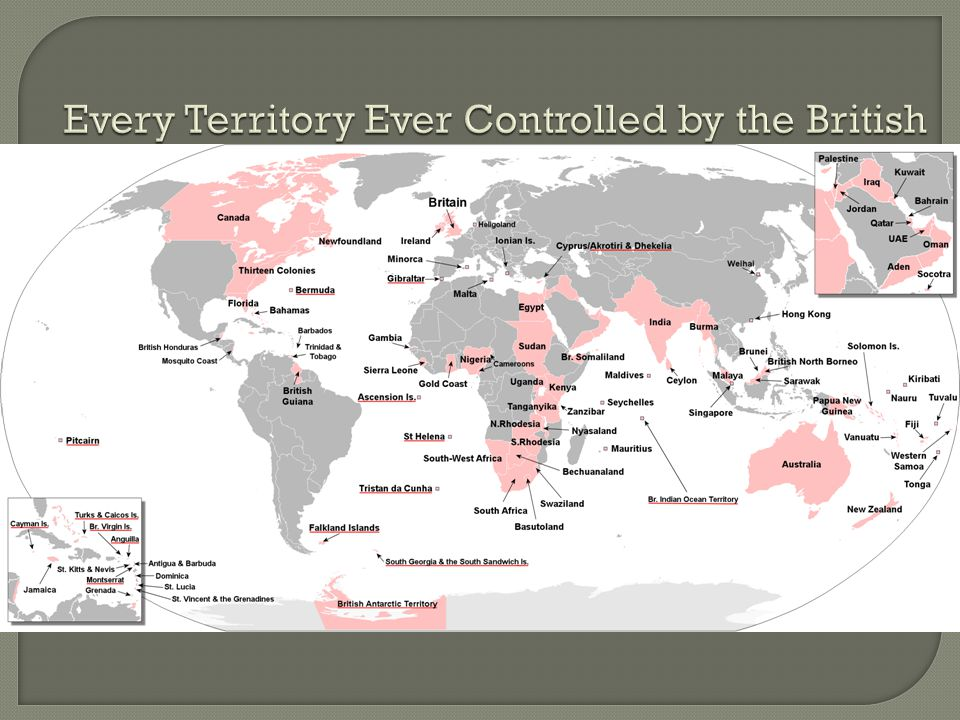Every Territory Ever Controlled by the British