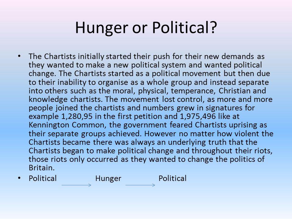 Hunger or Political