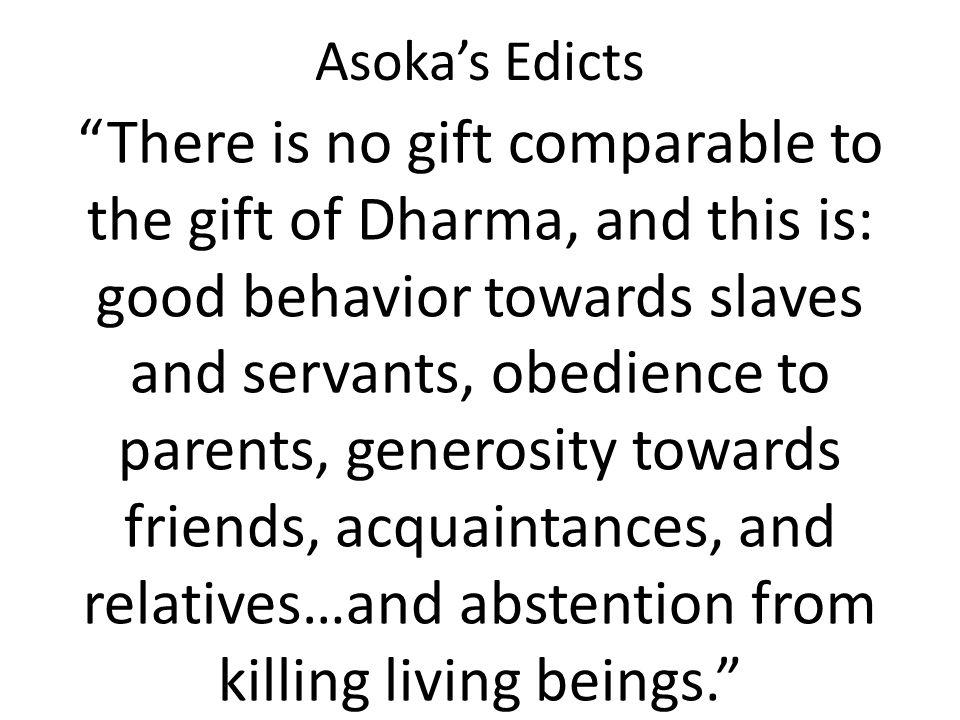 Asoka's Edicts
