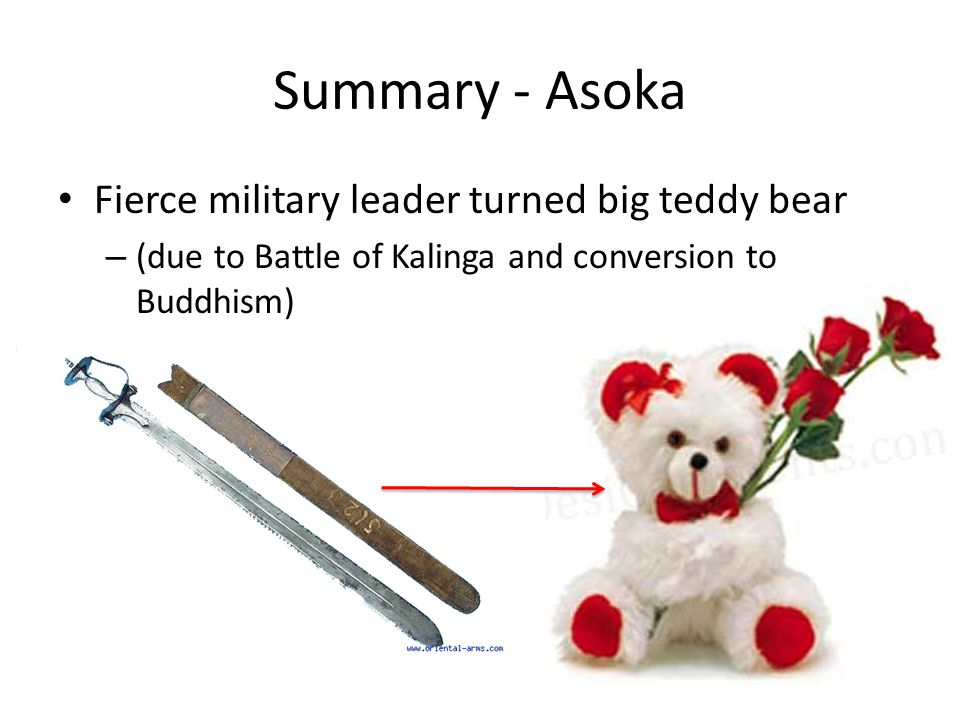 Summary - Asoka Fierce military leader turned big teddy bear