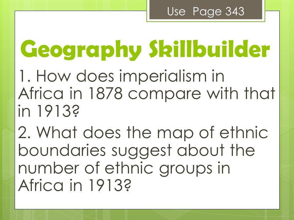 Geography Skillbuilder