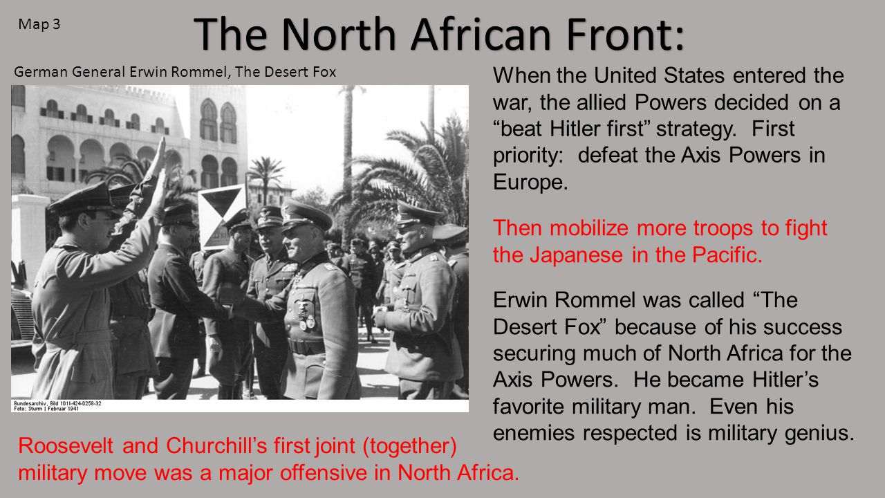The North African Front: