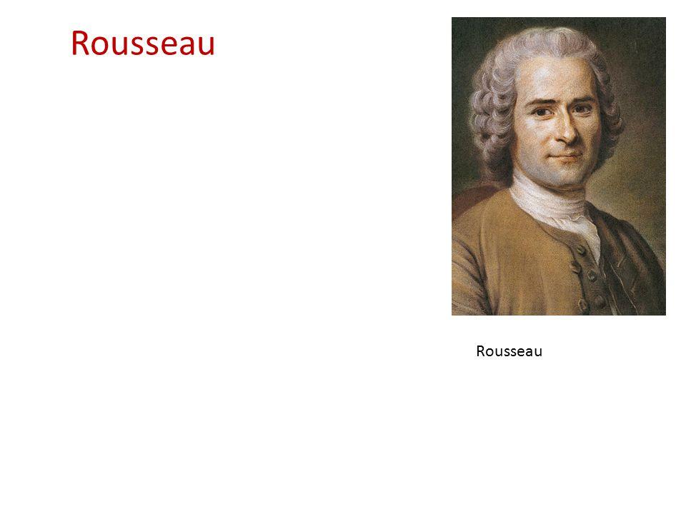Rousseau Rousseau