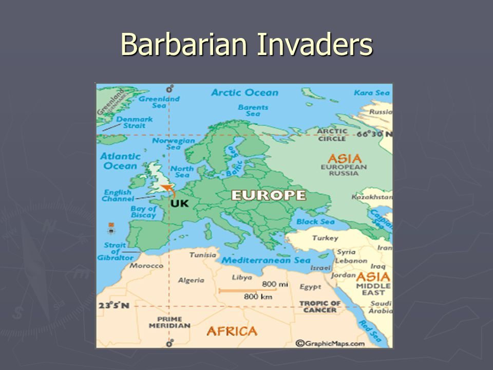 Barbarian Invaders