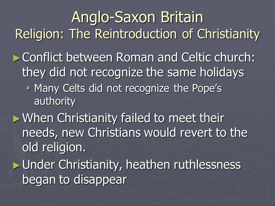 Anglo saxons beliefs