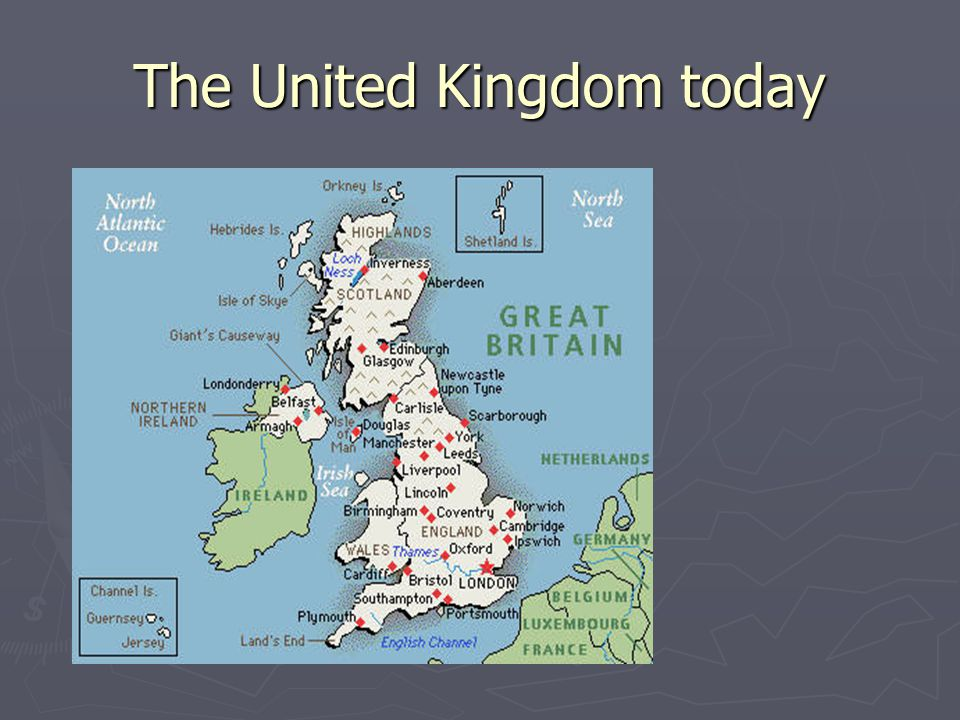 The United Kingdom today