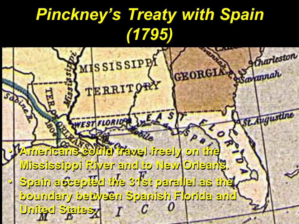 Pinckney's Treaty with Spain (1795)