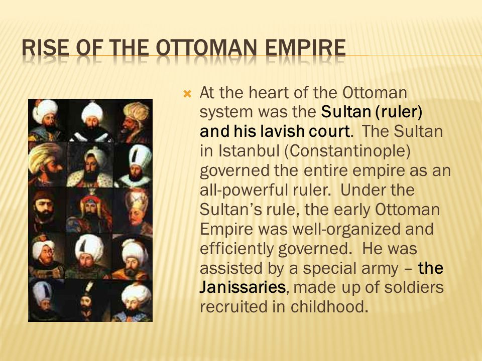 Rise of the Ottoman Empire
