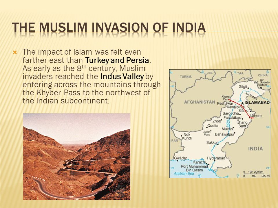The Muslim Invasion of India