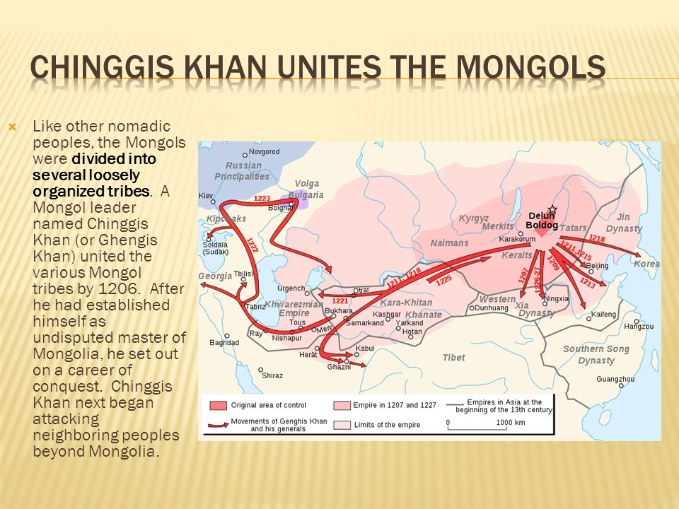 Chinggis Khan Unites the Mongols