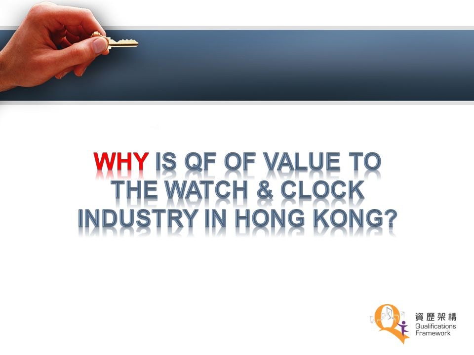 Why is QF of Value to the Watch & Clock industry in Hong Kong