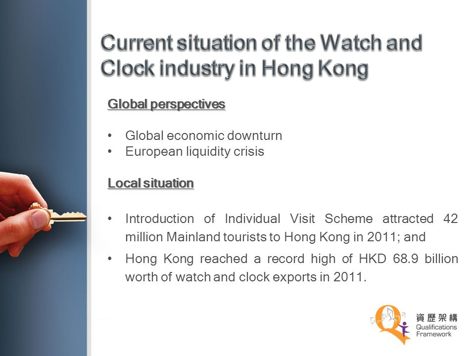 Current situation of the Watch and Clock industry in Hong Kong