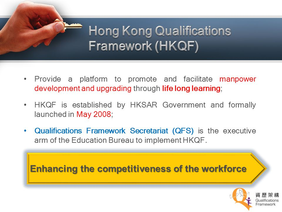 Hong Kong Qualifications Framework (HKQF)