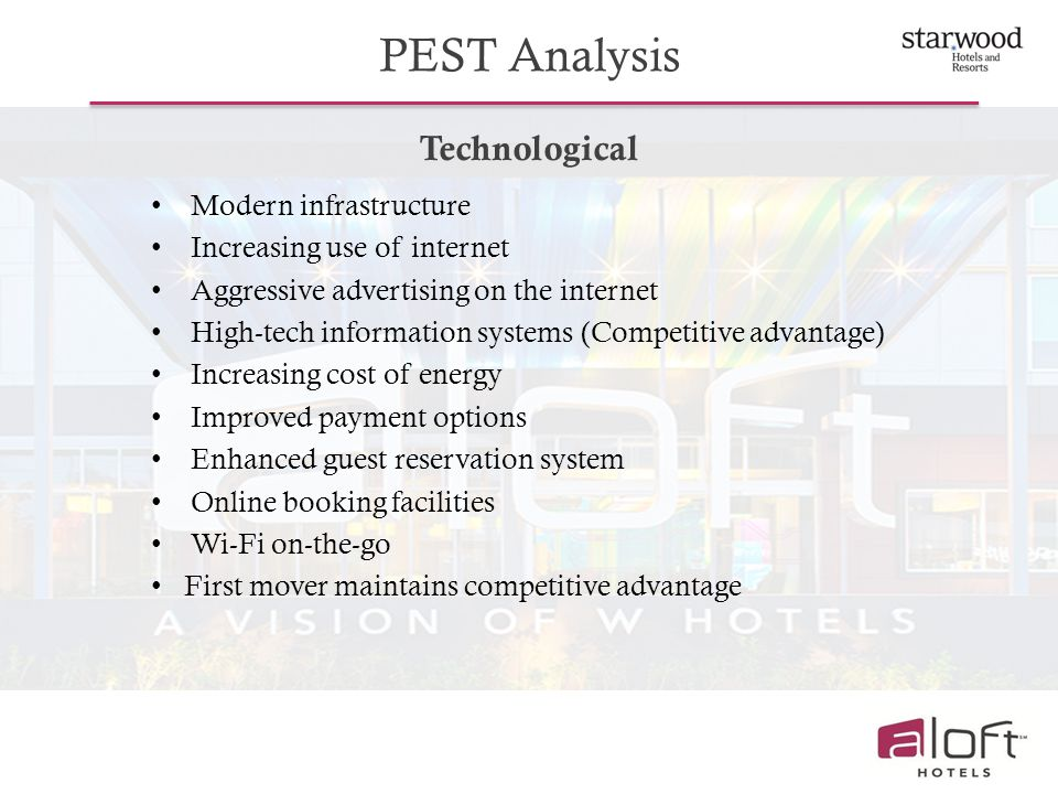PEST Analysis Technological Modern infrastructure