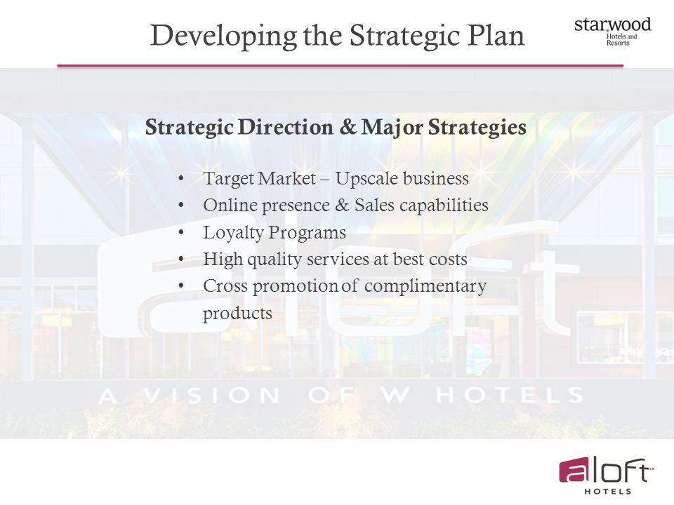Strategic Direction & Major Strategies