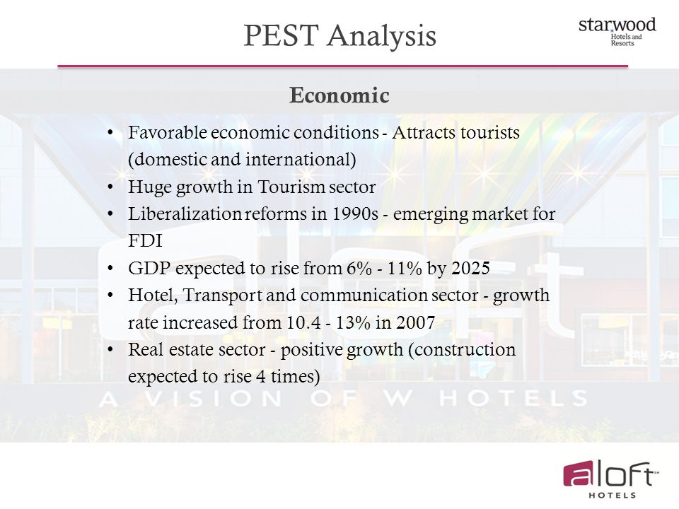 An analysis of tourist hotels