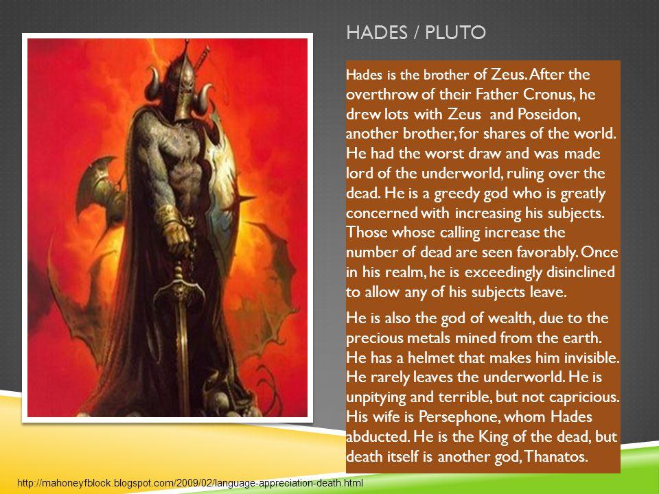 HADES / PLUTO