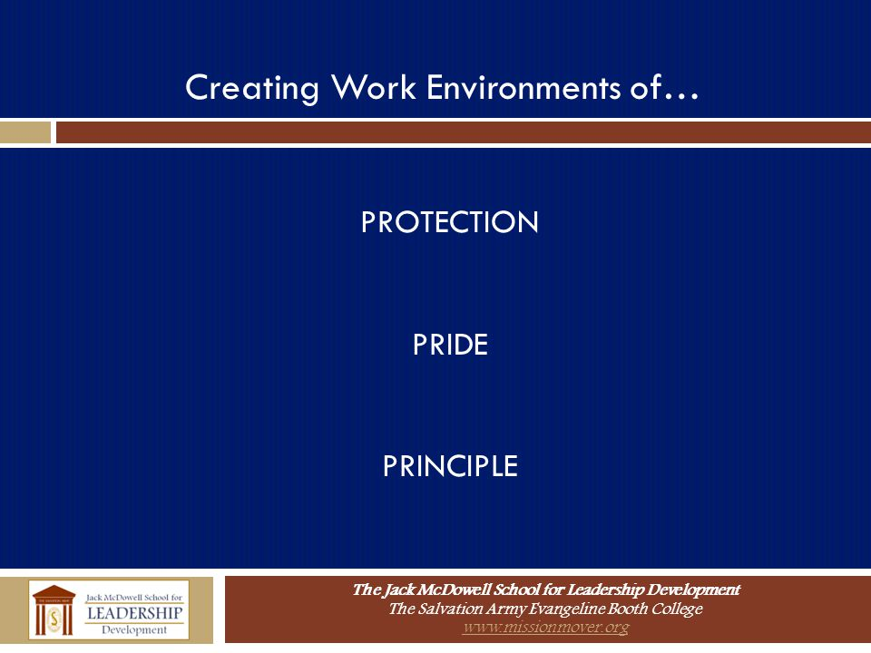 Creating Work Environments of…