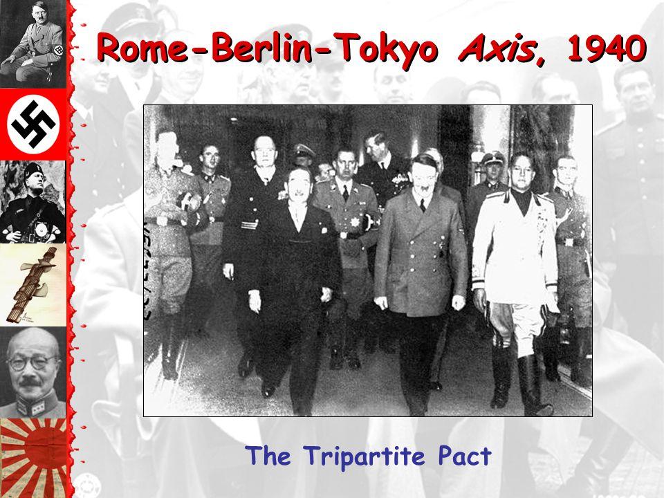 Rome-Berlin-Tokyo Axis, 1940
