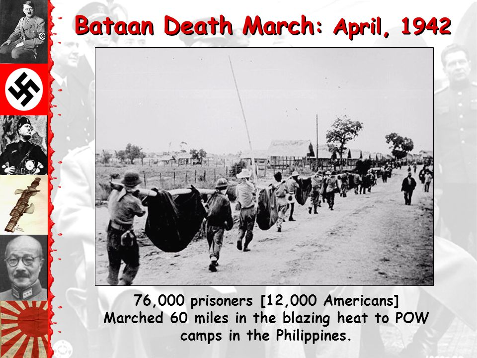 Bataan Death March: April, 1942