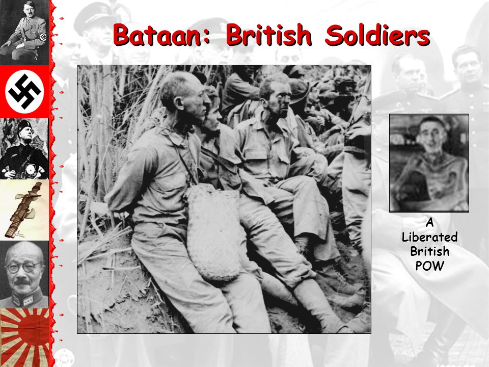 Bataan: British Soldiers A Liberated British POW