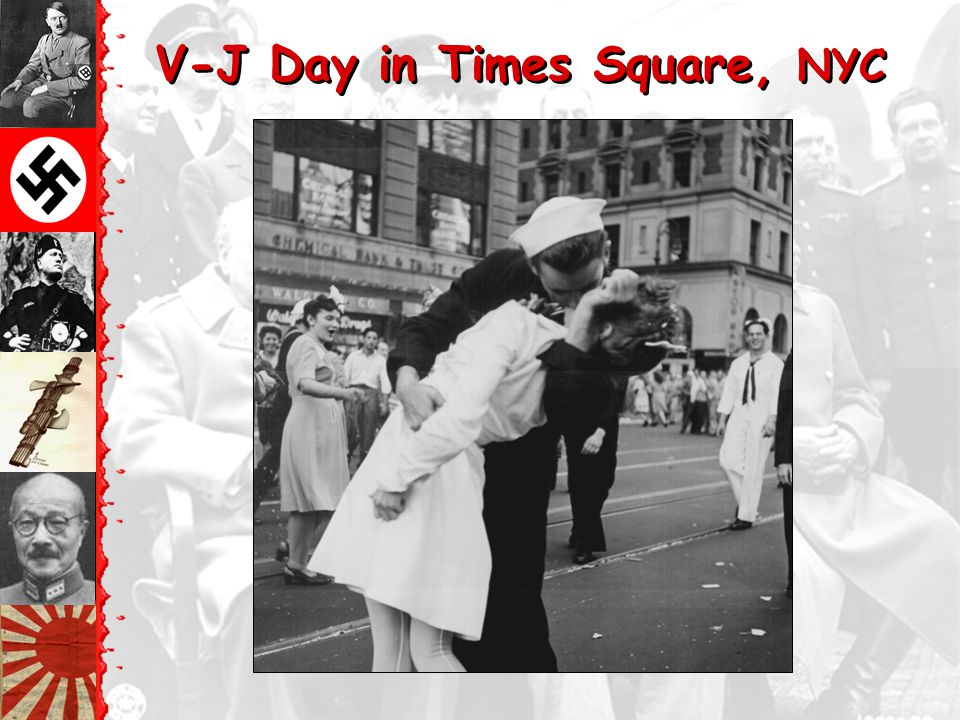 V-J Day in Times Square, NYC