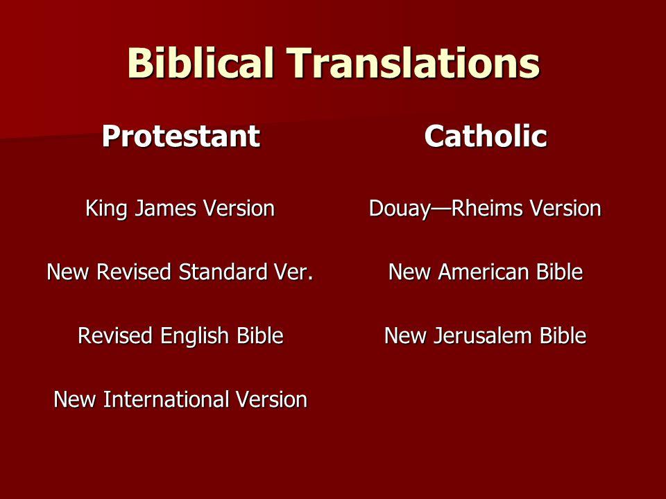 Biblical Translations