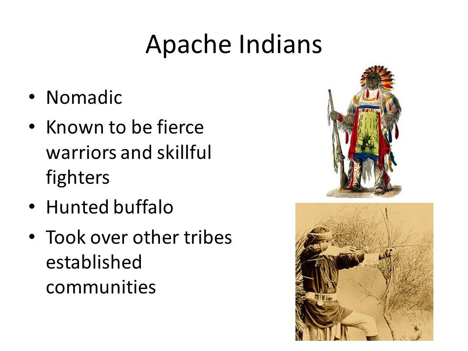 Apache Indians Nomadic