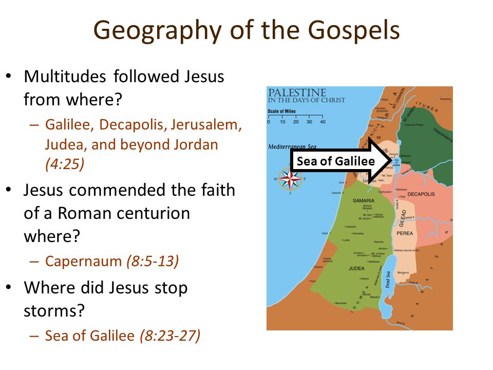 Geography of the Gospels
