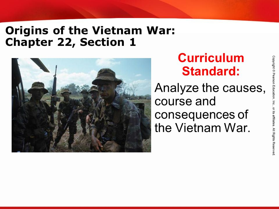 Origins of the Vietnam War: Chapter 22, Section 1