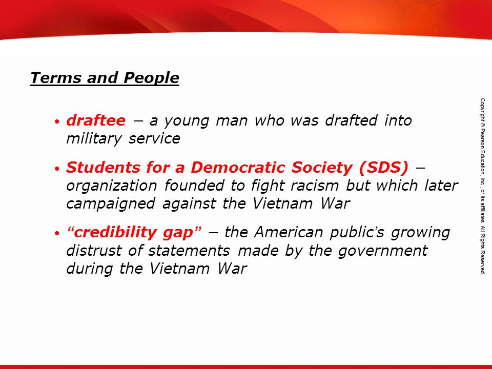 Terms and People draftee − a young man who was drafted into military service.
