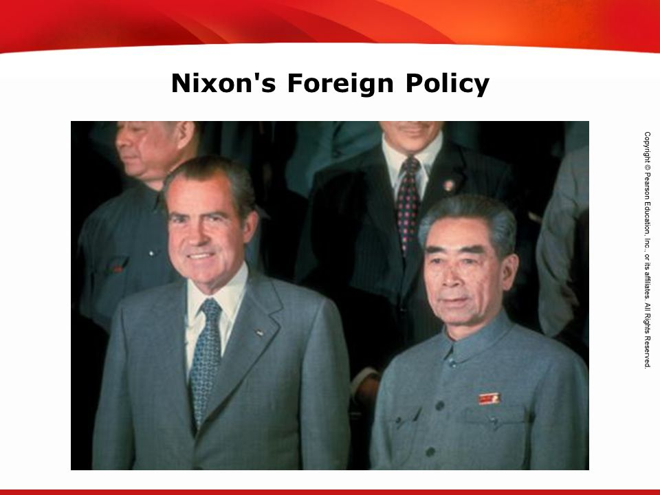 Nixon s Foreign Policy
