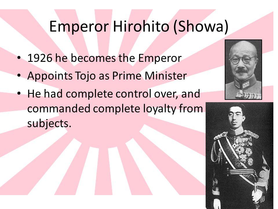 Emperor Hirohito (Showa)