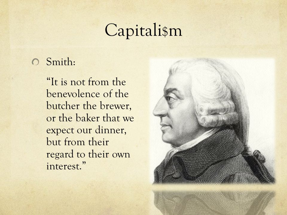 Capitali$m Smith: