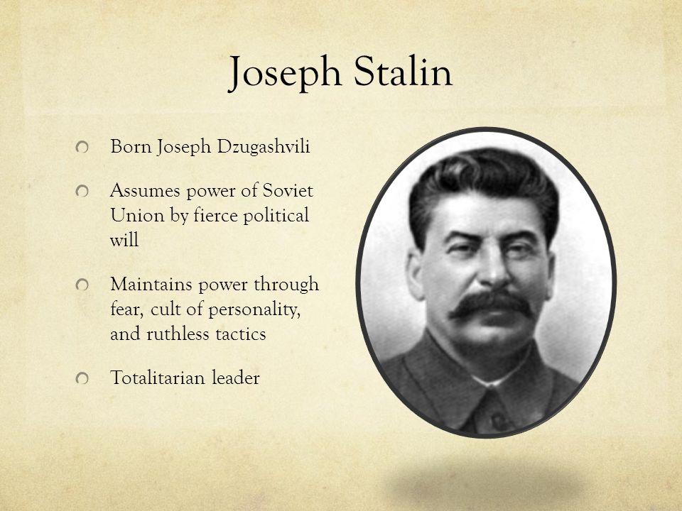 Joseph Stalin Born Joseph Dzugashvili