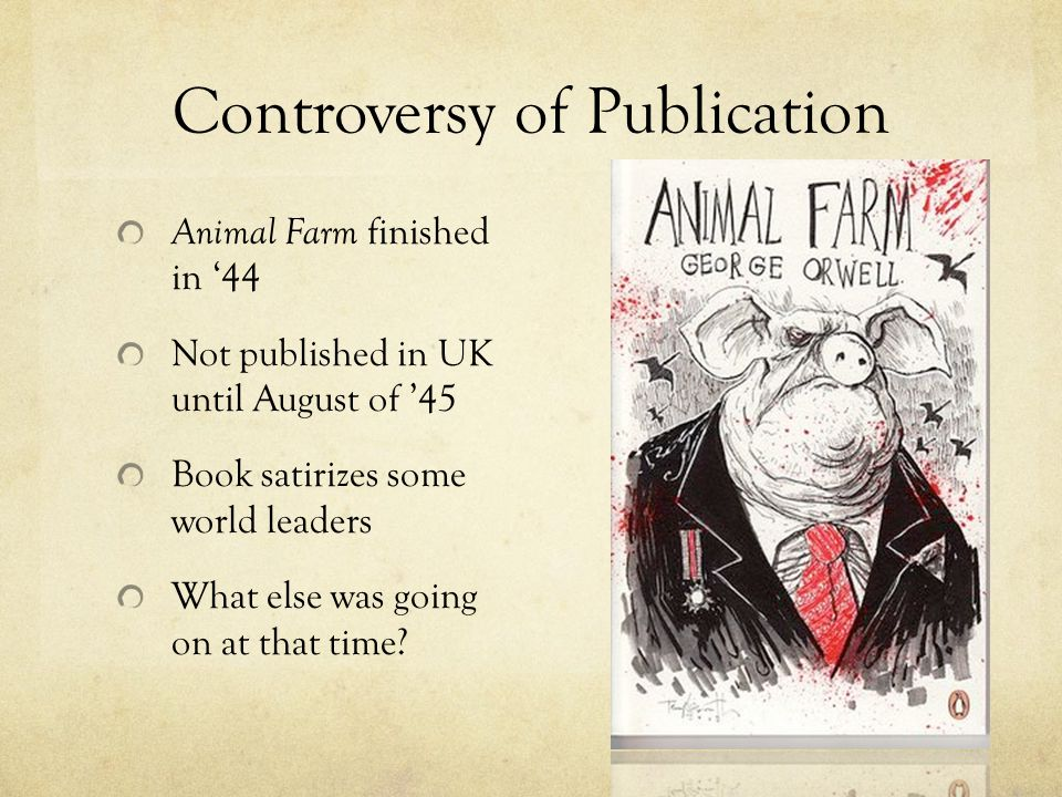 Controversy of Publication