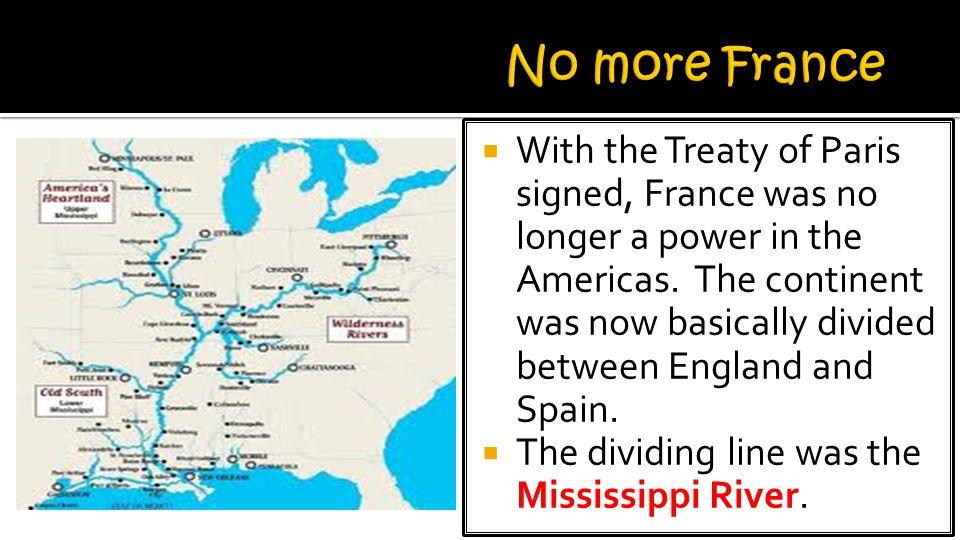 No more France