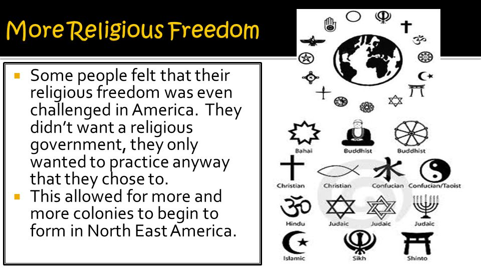 More Religious Freedom