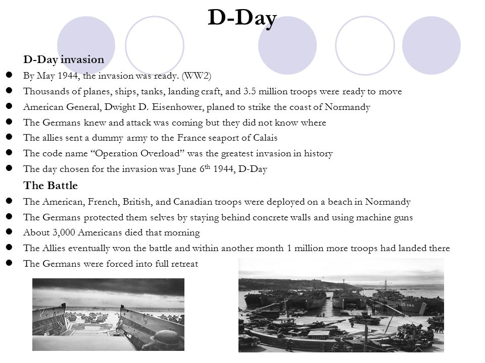 D-Day D-Day invasion The Battle