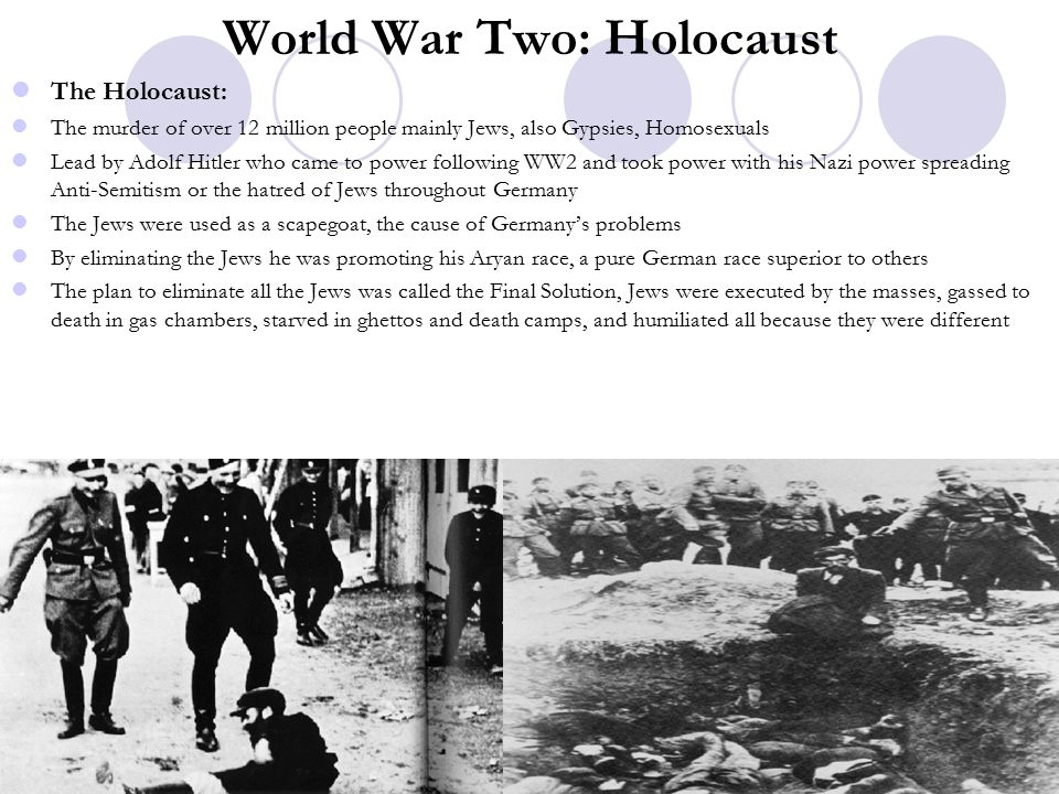 World War Two: Holocaust