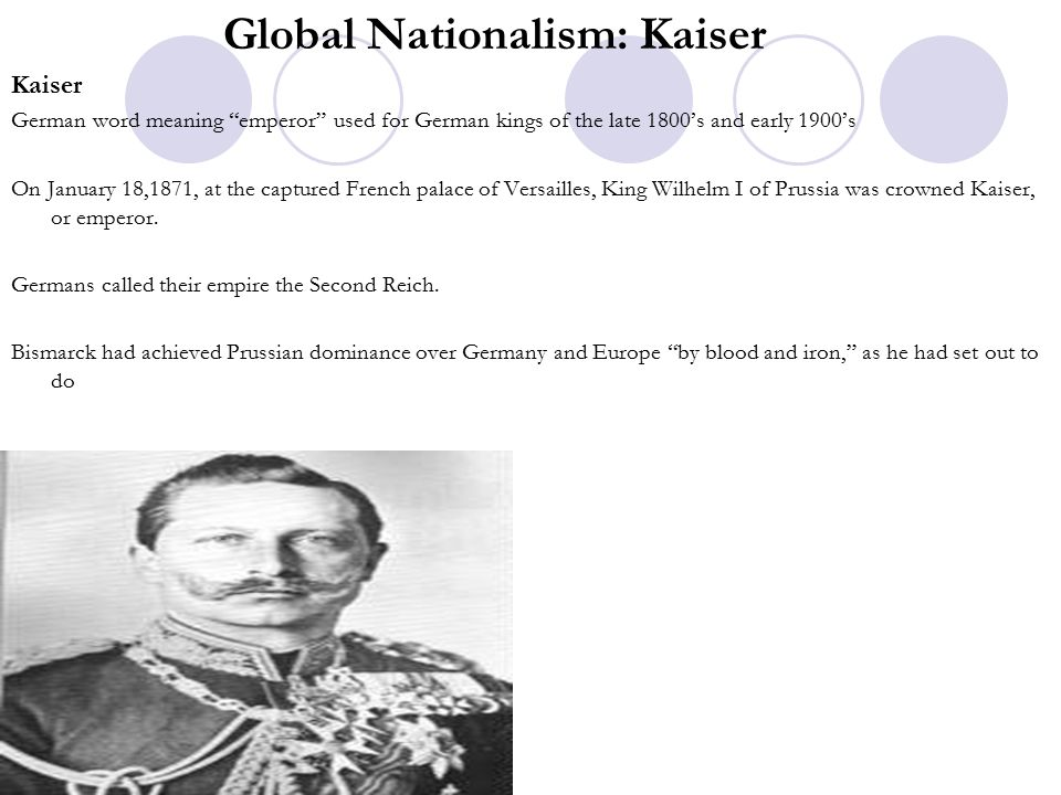 Global Nationalism: Kaiser