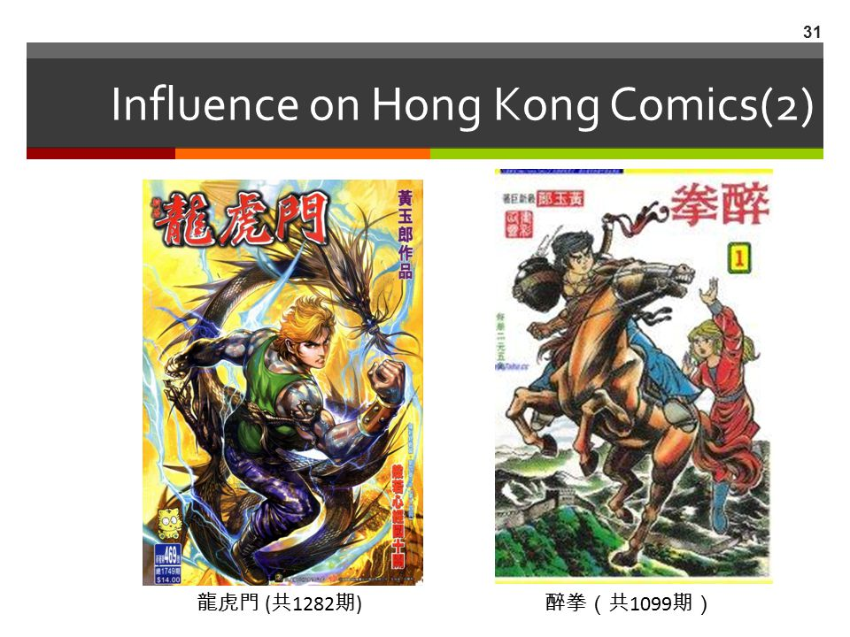 Influence on Hong Kong Comics(2)