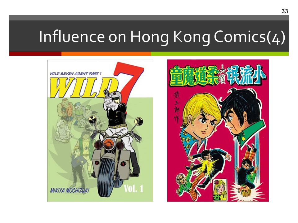 Influence on Hong Kong Comics(4)