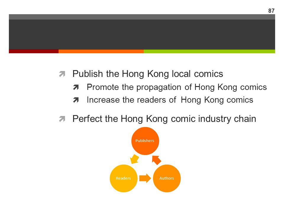 Publish the Hong Kong local comics