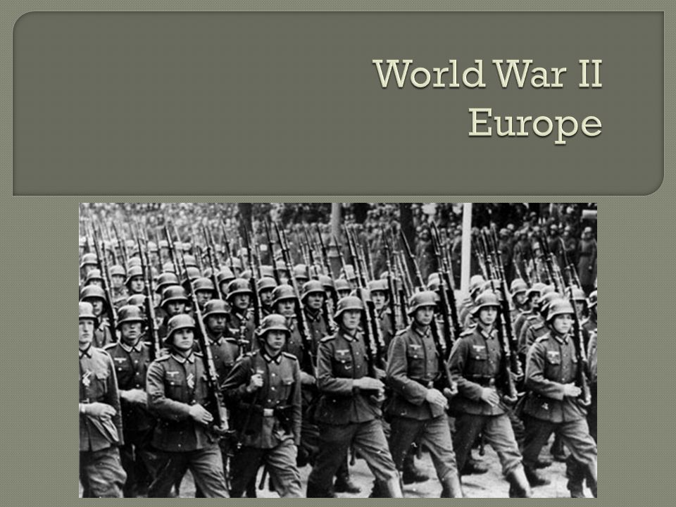 World War II Europe