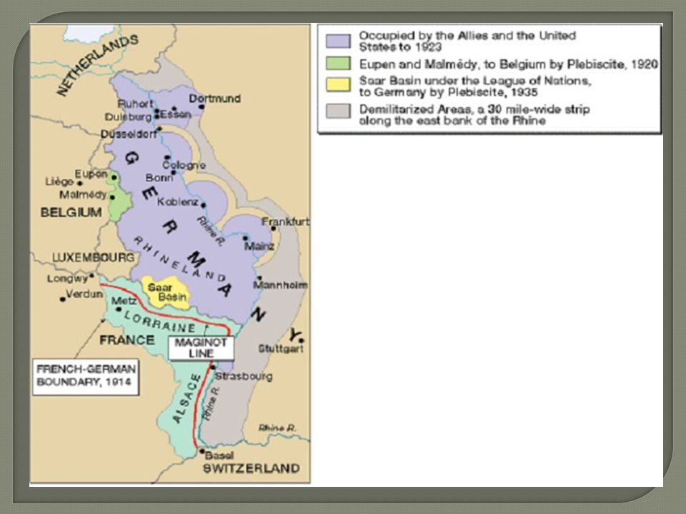 The Maginot line only went to the border of Belgium.
