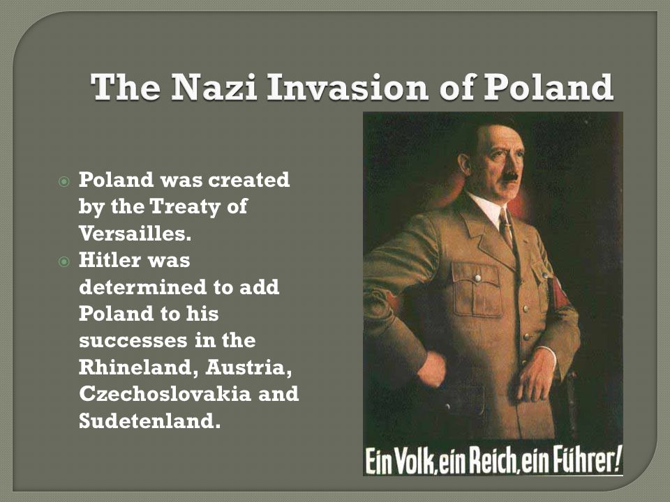 The Nazi Invasion of Poland