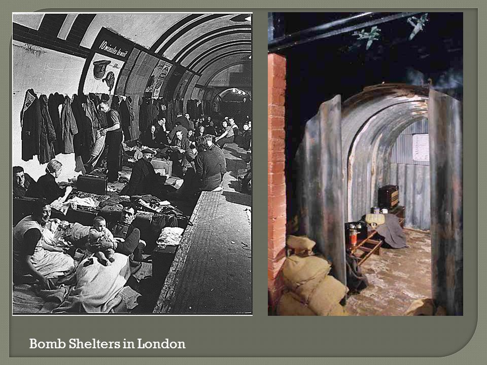 Bomb Shelters in London