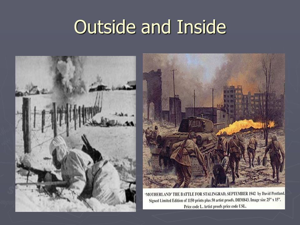 Outside and Inside